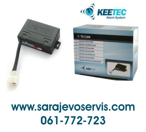 auto alarm keetec can bus